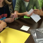 Deciding how to use the materials