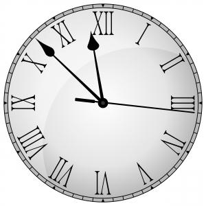 Roman-Numeral-Clock