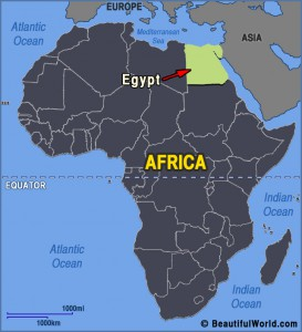 egypt-africa-map